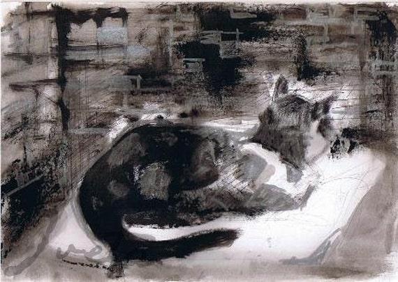 Cat 2, original drawing