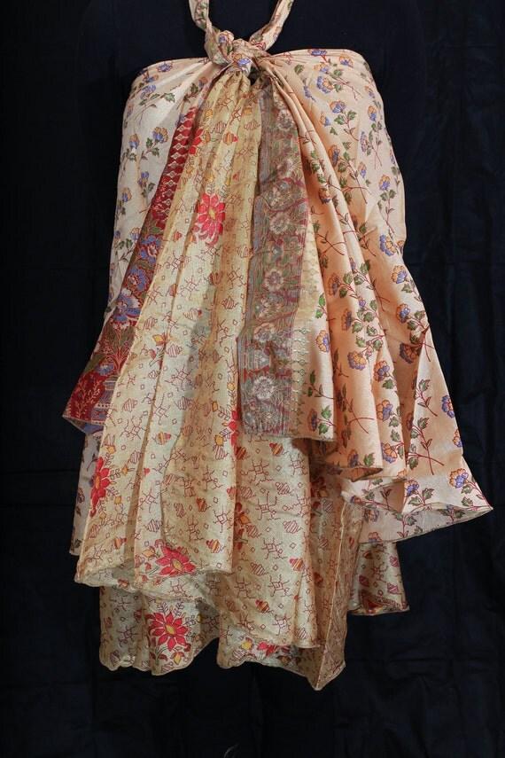 Vintage Magic Wrap Skirt