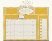 Large Personalized Dry Erase Calendar Print, Sized 16x20--Add Your Own Frame, Custom Dry Erase Print, Great for Family Planning