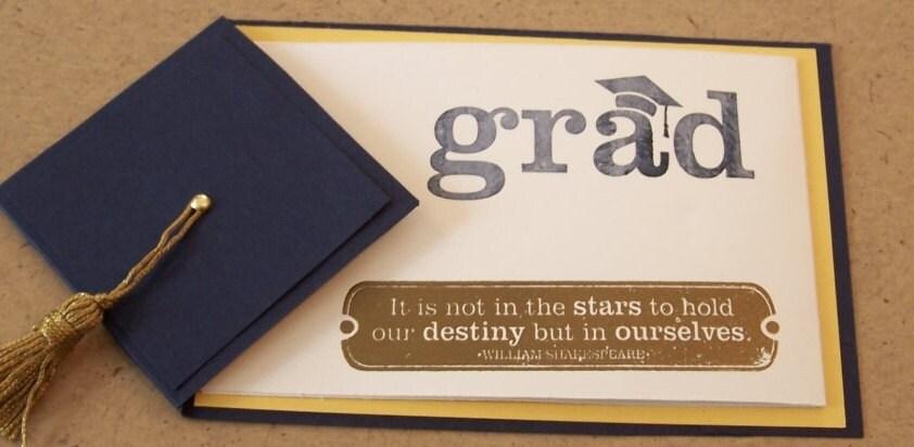 Handmade Graduation Cards 2014 Handmade Graduation Card or