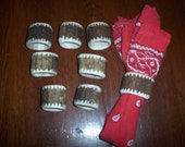 Rocky Mountain Elk Antler Napkin Rings, Set of 8, Hand Carved, Proudly made here in the U.S.A.