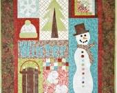 Winter Wonderland Applique Quilt Pattern