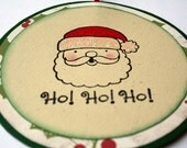 Gift tag Holiday - Santa