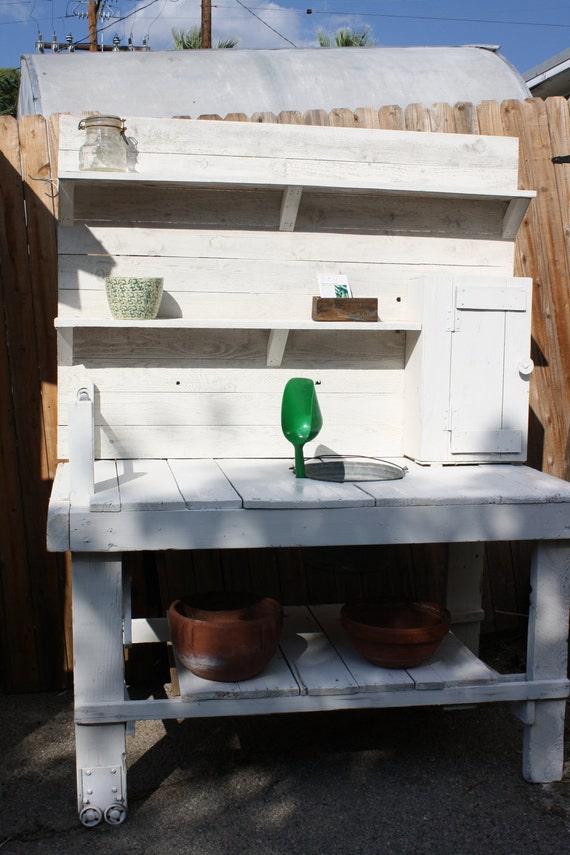 Potting Bench Potting Table Rustic Shabby
