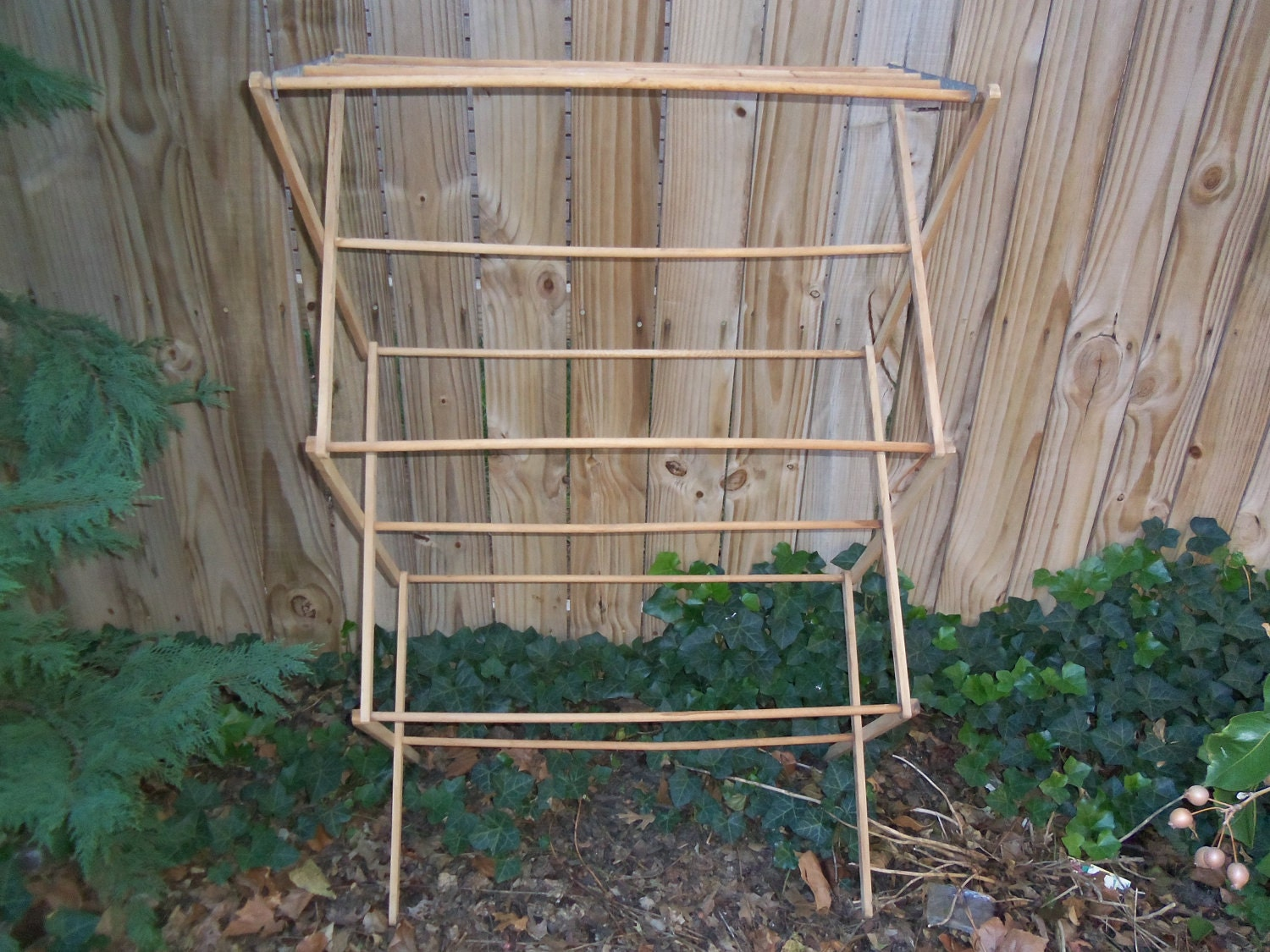 vintage primitive drying rack clothes drying rack by