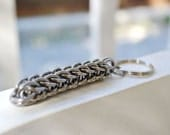 RESERVED FOR DEE-  Two Persian 6-in-1 Stainless Steel Chainmaille Keychains
