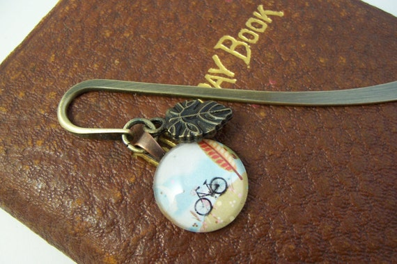 Bicycle in Autumn bookmark