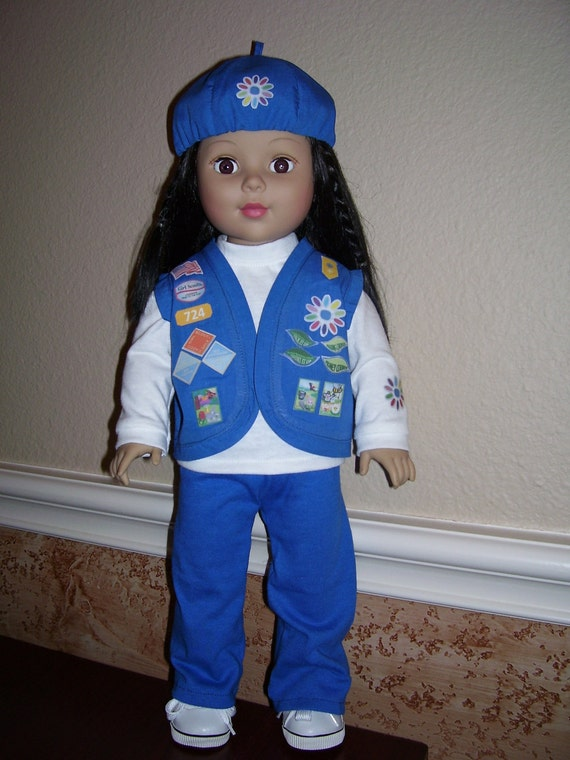 18 Inch Doll Clothes Daisy Girl Scout Uniform