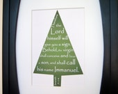 Christmas tree Print - 5x7