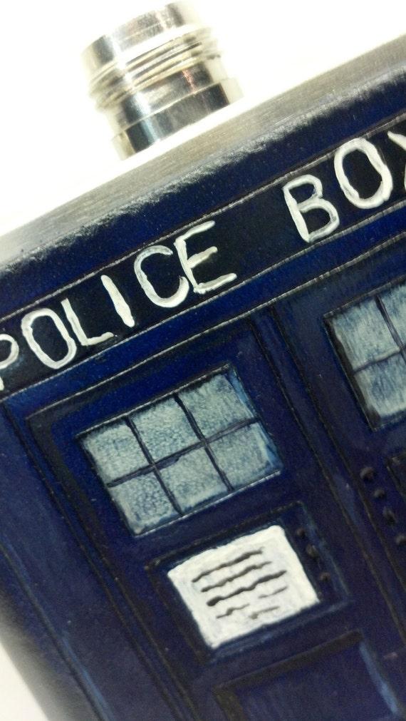 TARDIS Flask - Bigger on the inside