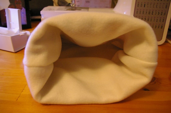 Small Pet Fleece Exterior Fleece-Lined Snuggle Bag