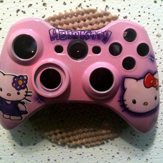 Items similar to Xbox 360 custom painted controllers Hello ...