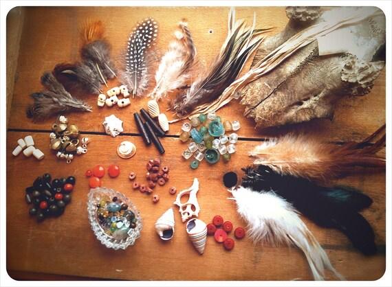 artisan alchemy. custom medicine sash talisman. 'made to order'