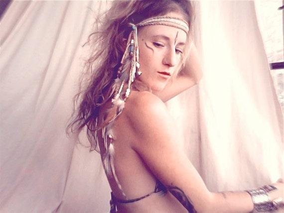 purification. a warrior headdress.