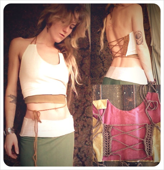 Ehwaz - reversible movement top. bamboo/hemp. choose your colors.