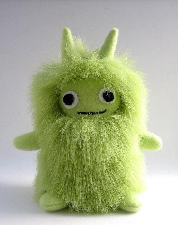 Baby Monster Green Plush