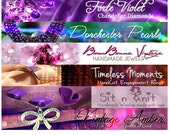 Custom Etsy Shop Banner and Avatar Package Set OOAK - (Or Facebook Timeline Banner)