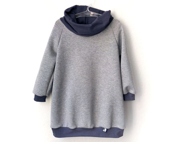 Jumper Dress, children clothing, heather grey, tradewinds, fall dress, versatile toddler dress, waldorf inspired, size 2T, ready to ship