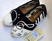 Custom Handpainted Music TOMS
