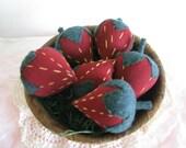 Prim Strawberries, Bowl Fillers