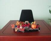 Pilgrim hat, decoration, Thanksgiving, handpainted