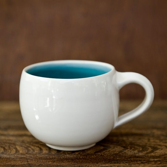 Robins Egg Blue-Teal-Turquoise-Ceramic Mug