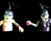 Zombie Couple Earrings