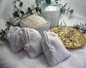 GOLDEN SLUMBER CHAMOMILE   Tub Tea   Bath Sachet   Chamomile, Oatmeal and Goats Milk - 100% Organic