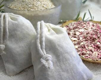 CLEOPATRAS SECRET Tub Tea | Bath Tea Sachet | Rose Petals and Milk - 100% Organic