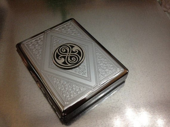 Doctor Who Large Seal of Rassilon Cigarette Business Card Case