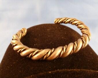 Heavy two roped bracelet unisex. (B49)