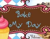 Bake My Day Facebook Timeline Image