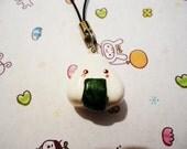 Kawaii Onigiri Cell Phone Charm