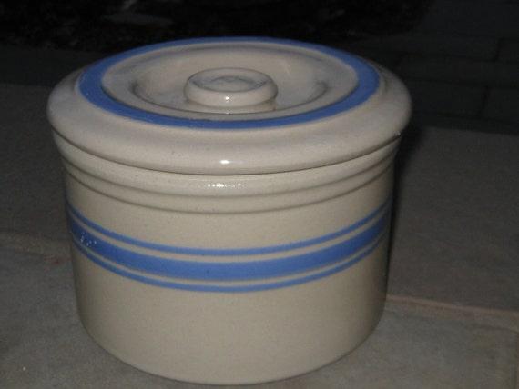 Antique Stoneware Butter Crock