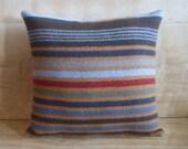 Pendleton Stripes Wool Pillow, 12x13