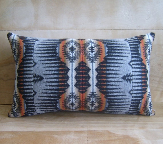 SALE Pendleton Fabric Pillow, 11x18