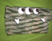 Monster Knit Camouflage Nook, Kindle, Lookbook  ipad, Tablet Cover 6 by 9 ""