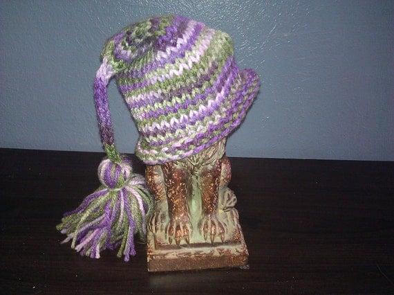 Sweet Pea Tassel Baby Newborn beanie striped hat