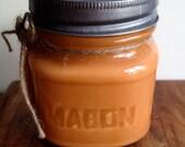 Pumpkin Spice Soy Candle 8oz Mason Jar