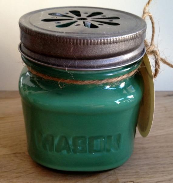 Basil Soy Candle 8oz Mason Jar