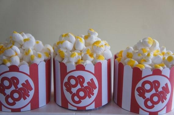 Popcorn Cupcake Wrapper Set of 12