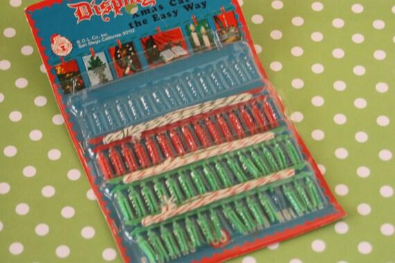 Vintage Christmas Card Display Rope Clips