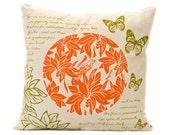 Screen printed Bade Saaba Cushion by Moji Designs