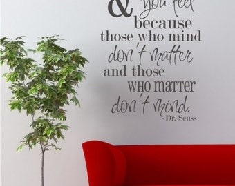 Wall Decal Quote Be Who You Are - Vinyl Wall Words