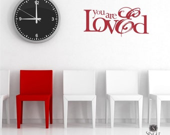 Nursery Wall Decal - You Are Loved Sticker