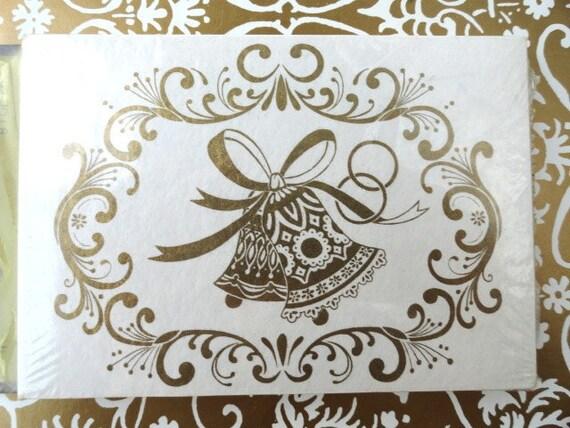 Hallmark Invitations Wedding: 8 Vintage 1970s Wedding Invitations Unused / By