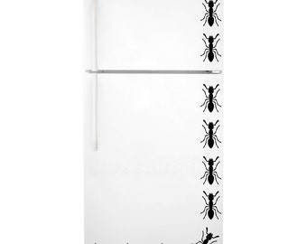 Ants Fridge Decal