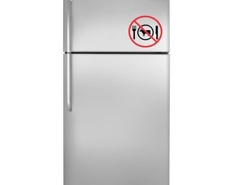 Vegan Fridge Decal