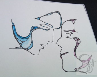Happy Together - Original Art