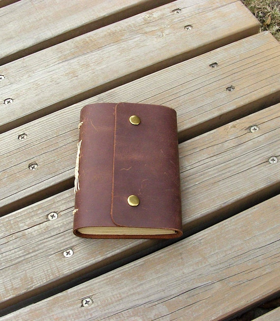 Leather journal, handmade notebook, blank vintage journal, diary,unique, travel diary, small journal, lovely journal, brown color, gift
